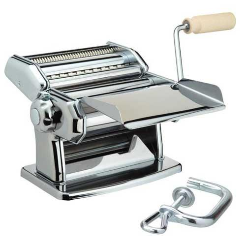 Maquina pasta manual Imperia 150 mm - acero cromado inox