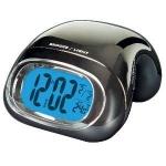 Reloj Despertador LAUSON 24106 - Calendario Termómetro - Reloj despertador Lauson negro cromado, con función Calendario y Termometro. Funcion de bloqueo de controles. Funcion snooze. Formato seleccionable 12h-24h. Medición de temperatura en ºC o ºF. Funciona con 2 pilas AAA - incluidas.
