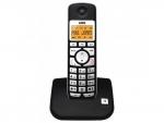 Telefono inalámbrico AEG Voxtel S-100 - Telefono inalámbrico AEG con display retroiluminado ámbar de 1 línea alfanumérica y 2 de iconos. Manos libres. Memoria de las últimas 10 llamadas. Compatible con audífonos. Agenda de 20 nombres y números a los 5 últimos números. 5 melodías polifónicas y 5 normales. Hasta 10 horas de conversación, y 100 horas en espera. Admite hasta 5 supletorios. Timbre visual. Modo ECO.