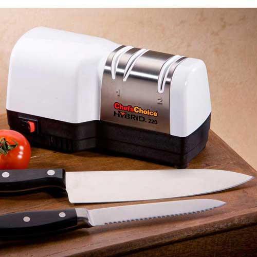 Afilador cuchillos Chefs Choice hibrid 220 Diamante - Basico