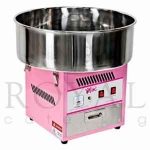 Maquina de algodon de azucar Royal Catering RCZK-1200w - Maquina de algodon de azucar profesional de Royal Catering, algodonera concebida para su uso en el ámbito de la gastronomía profesional, eventos infantiles, bodas, comuniones e incluso ferias. Producida en acero inoxidable fino de primera calidad, que permite una limpieza sencilla y protege del deterioro. La máquina de algodón de azúcar es capaz de producir una gran porción de 75 gr en 30 segundos. Este rendimiento es excepcional en relación al precio del producto. Si lo que prefiere son pequeñas porciones, podrá llegar a un número de 350 porciones por hora. La potencia de 1,2 kw garantiza un calentamiento rápido del aparato sin espera para vender el algodón dulce. El control de la temperatura es completamente automático y facilita el uso. Basta encender la algodonera y ésta empieza a calentar sola hasta alcanzar la temperatura óptima. Esto garantiza que el azúcar no se carameliza, formando hilos perfecto. La función automática distingue la máquina de algodón de Royal Catering de otros productos del mercado. Ofrece un riquísimo algodón de azúcar en tus eventos y tus clientes, sin duda, repetirán. - Ver Detalles -