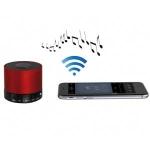 Mini Altavoz portátil bluetooth Clipsonic TES156 - Rojo - El mini Altavoz bluetooth Clipsonic TES156 sirve para reproducir música desde su PC, smartphone, iPhone, tablet o cualquier otro dispositivo con Bluetooth. Manos libres con micrófono, las llamadas telefónicas entrantes se pueden responder con una sola pulsación de botón. Entrada auxiliar para conectar los altavoces a los ordenadores y reproductores de mp3 que no tienen Bluetooth. Ranura Tarjeta TF y USB para reproducir la música. Control de volumen, reproducción - pausa, pista anterior - siguiente música. Bluetooth V2.1 + EDR (A2DP) HFP. Alta calidad de sonido con bajos potentes. - Potencia de salida: 3w RMS. - Impedancia: 4Ohm. - Rango frecuencia: 100Hz-18kHz. - S - N Ratio: >=95DB. - Batería recargable de Li-polímero 3,7v, 250 mAh. - Autonomía: hasta 1,3 H en escucha. - Alcance: hasta 10 metros. - Dimensiones: Ø 6 x 5 cm. – Peso: 220 gr. - Material: Metal. - Accesorios incluidos: Cable de carga USB, cable jack para lectura del MP3 Aux IN y Manual de instrucciones.