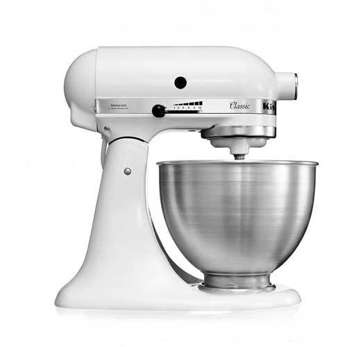 Amasadora batidora Kitchenaid Classic 5k45ss ewh - Robot cocina