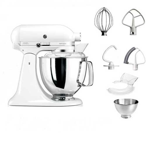 Amasadora Kitchenaid Artisan 5KSM175PS EWH - blanco