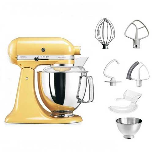 Amasadora Kitchenaid Artisan 5ksm175ps EMY - amarillo