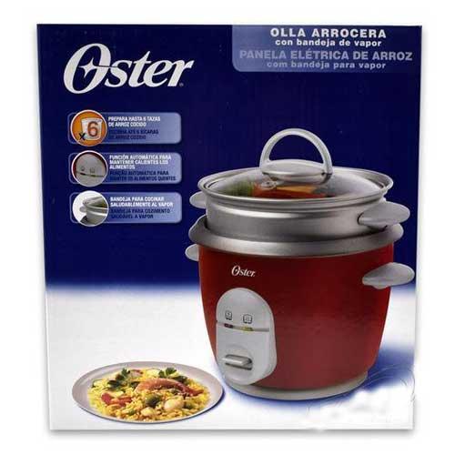 Arrocera eléctrica cocina vapor Oster 4723 - 6 tazas
