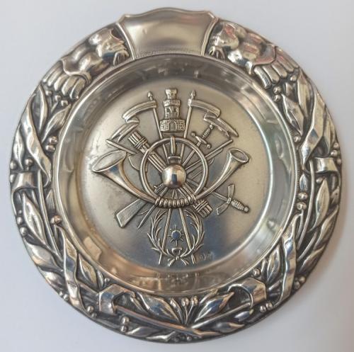Bandeja cenicero de Plata de Academia General Militar Zaragoza