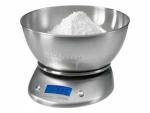 Bascula cocina con bol Proficook KW1040 - Balanza bascula de cocina Proficook totalmente acabada en acero inoxidable, fuente y área de pesaje. Tazón con capacidad de 2 litros. Fácil de leer con pantalla LCD multi-función de alta calidad iluminado en color azul 5 dígitos. Rango de medida: hasta 5000 gr. en pasos de 1 gramo. Unidades de medición ajustables: gr, ml, lb, oz, fl, oz. Función de tara, para pesaje de aditivos. Apagado automático para la función de pesaje. Interruptor de encendido - apagado. Alta estabilidad. - Funcionamiento de la batería: 2 x 1,5 v AA - baterías no incluidas -.