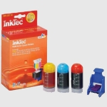 Kit recarga tinta color Canon CL211 CL513 CL811 - 5 a 7 cargas