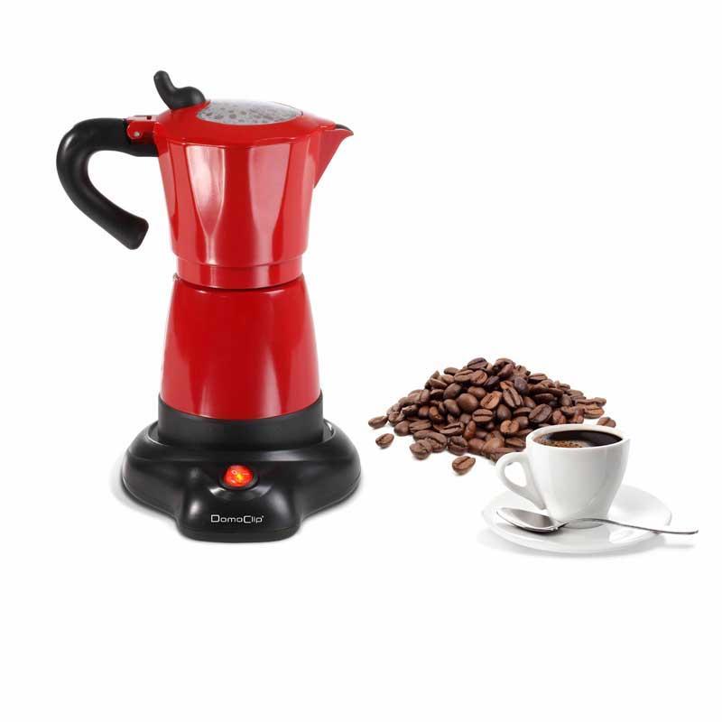 Cafetera moka electrica Domoclip DOD117 - 6 tazas