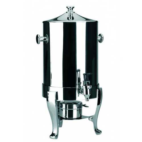 Calentador de liquidos dispensador Lacor 69028 - 11 litros - El calentador de líquidos de Lacor con patas cromadas posee una estructura fabricada en acero inoxidable de 18-10 de gran resistencia y alto nivel de calidad. El calentador es también dispensador por llevar un práctico y cómodo grifo ideal para mesas de buffet, catering o hostelería profesional. Entre sus cuatro pies se aloja un contenedor de combustible perfectamente adaptado. Este calentador con una capacidad de 11 litros es ideal para mantener caliente toda clase de líquidos, cafés, leche, consomés. Su diseño elegante dará un toque de distinción a todos sus eventos. Características: - Diámetro: 37 cm. - Altura: 48 cm. - Capacidad: 11 litros. +( NO Envío Contra-reembolso ). - ( ENVÍO GRATIS ).