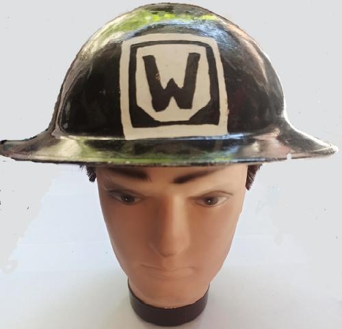 Casco Ingles Brodie WW2 Protección Civil Bomberos - año 1938