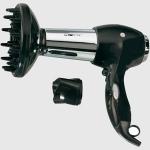 """Secador cabello profesional Clatronic HTD 2939 - 2200w - Secador de pelo cabello con difusor profesional y boquilla de moldear. Potente motor de 2200w con dos velocidades. Dos graduaciones de ventilador aire. Tacto suave, """"cool shot"""". Filtro de admisión del aire desmontable. Protección contra sobrecalentamiento. Alimentación eléctrica: 230v, 50 Hz, 2200w."""