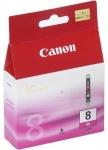 Cartucho Tinta Magenta CANON CLI-8M - Cartucho Tinta Magenta CANON CLI-8M. Tinta para impresoras, multifunción: IP4200 / MP500 / mp600 / MP800