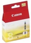 Cartucho Tinta Amarillo CANON CLI-8Y - Cartucho Tinta Amarillo CANON CLI-8Y. Tinta para impresoras, multifunción: IP4200 / MP500 / MP600 / MP800.