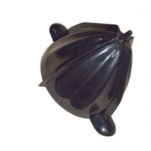 Cono + inserto repuesto exprimidor con brazo - varias marcas - Cono + inserto eje repuesto accesorio para el exprimidor eléctrico con brazo, este recambio es compatible para los siguientes exprimidores de marcas: Jata EX1029 , Domoclip DOD105 , Sogo SS-5275 , Princess 201851 Master , Prixton PRX-EXP-PRO , Taurus Citrus 160 , H.Koenig AGR80 . Características: - Duradero, y de fácil limpieza. - Material: Plástico alimentario. - Color: Negro.
