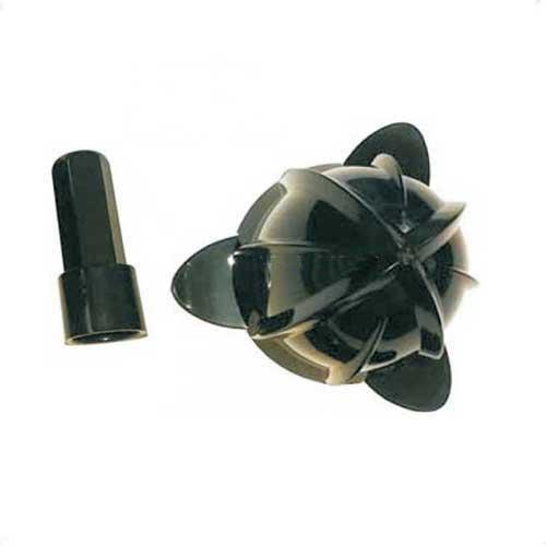 Cono + inserto repuesto exprimidor de palanca - varias marcas - Cono + inserto eje repuesto accesorio para el exprimidor eléctrico de palanca o brazo, este recambio es compatible para los siguientes exprimidores de marcas:  Domoclip Rouge , Sogo SS-5255 , Prixton PRX-EXP-MINI , Prixton Mini , Beper 90.425 , Beper 90.426 , Spide Margarita , Onogal 6061. Características: - Duradero, y de fácil limpieza. - Material: Plástico alimentario. - Color: Negro.