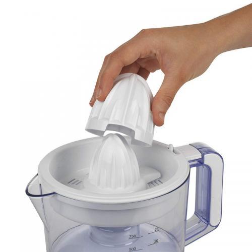 Conos + inserto repuesto exprimidor Lacor 69575 Zitrus  - Conos + inserto eje de repuesto para el exprimidor eléctrico Lacor 69575 Zitrus de 40w. Este recambio incluye : 2 conos, uno pequeño y uno grande, y Eje soporte. + Características: - Su diseño especial permite separar la pulpa y la semillas del jugo. - Duradero, y de fácil limpieza. - Material: Plástico alimentario. - Color: Blanco.