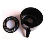 Contenedor zumo + Filtro repuesto exprimidor Lacor 69286 - Contenedor de zumo + filtro de plástico repuesto accesorio para el exprimidor eléctrico Lacor 69286. Características: - Filtro y Cubeta especial que permite contener el zumo recién filtrado y separado de la pulpa y las semillas del cítrico, incorpora boquilla. - Fácil limpieza. - Material: Plástico alimentario. - Color: Negro.