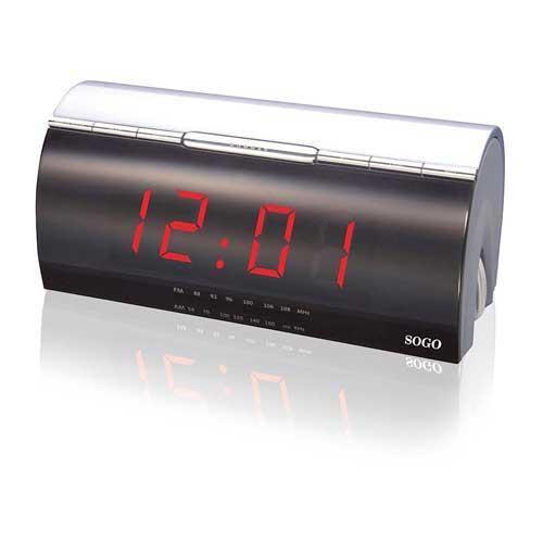 Radio reloj Despertador Sogo RRD-SS3115 - Pantalla gigante