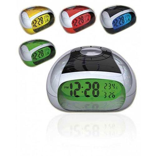 Reloj Despertador parlante Sogo ss-3905 - rojo  - Reloj despertador con voz que dice la hora y temperatura actuales en español. Alarma y función repetición con diferentes tipos de sonido. Pantalla grande con luz de fondo, de alto contraste para lectura fácil. Voz alta y clara, habla en Español. Indica la temperatura. Despliegue de hora en formato 12 h y 24 h. - Dimensiones: 10,7x11,5x6 cm. - Color: rojo. - Bajo consumo de energía: 2 pilas AA/R6 alcalinas - no incluidas -.