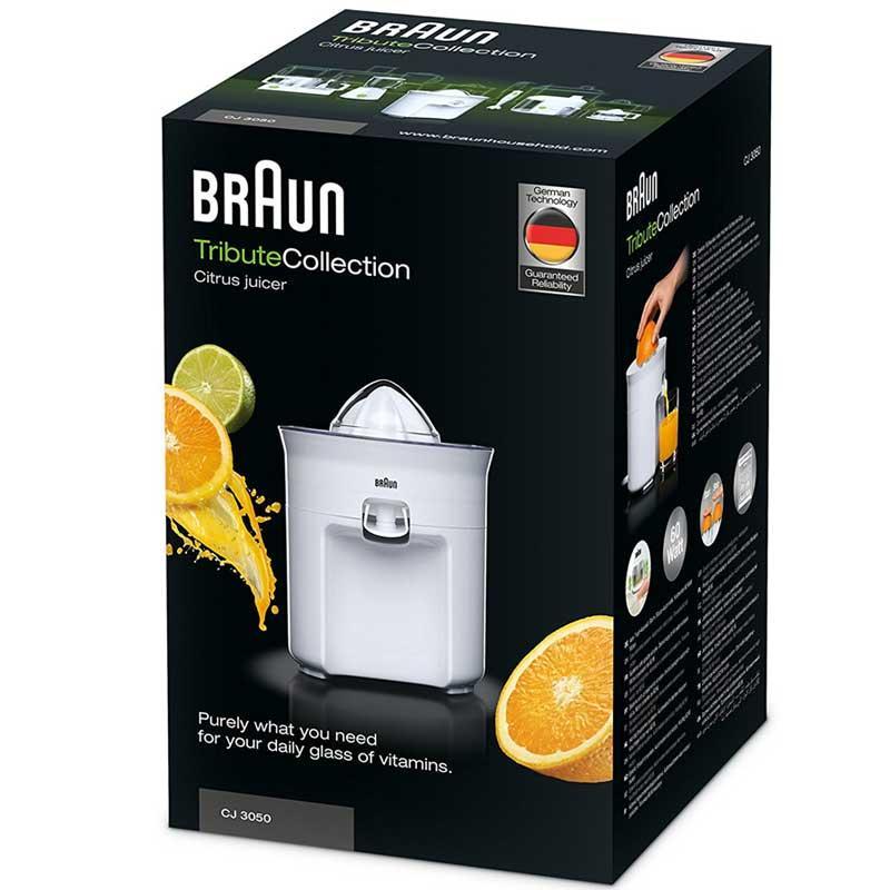 Exprimidor de naranjas y cítricos Braun CJ3050