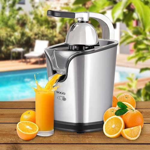 Exprimidor naranjas con brazo Sogo SS-5285 - 160w