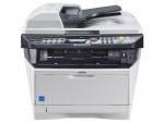 """Multifunción Laser b/n KYOCERA FS-2535 MFP + DP120 - Copiadora, Impresora, escaner color y fax en una multifunción profesional y compacta. Velocidad: 35 pág-min. A4. Tiempo de primera copia de 6,9 segundos. Funcion Duplex - doble cara - de serie. Incluye Alimentador de 50 originales - RADF - a doble cara  DP-120. Capacidad de papel de hasta 800 hojas con 2 depósitos de papel opcionales. Impresión y escaneo a memoria USB. Elevados estándares de seguridad con SSL, IPsec e Impresión Privada (Requiere memoria adicional). Modo """"Apagado"""" automático que reduce al mínimo los consumos de energía. Interfaz estándar: USB 2.0 Hi-Speed, ranura USB, Fast Ethernet 10-100 Base-Tx. Componentes de larga duración reducen costes de impresion y su RADF aumentan su productividad. Toner TK-1140 incluido para 7200 copias - impresiones. Volumen de trabajo máximo: 20000 copias-impresione x mes."""