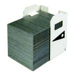 Grapas Clasificador copiadora Canon J1 - 3 x 5000 unidades - Grapas - 3 cartuchos x 5000 grapas - compatible para sorter o finalizador Finisher de copiadoras multifunción;  Canon Finisher A1 - C1 - E1 - G1 - P1 - Q1 - R1 - S1 - U1 - U2 - Q3 . Saddle de equipos: IR2200 - IR2800 - IR3300 - IRC3100N. Y Finisher Q2 - R2 - Q4 - T1 - T2 de equipos: IR6800C - IR2270 - IR2870 - IR3570 - IR4570 - IR5570 - IR6570. Producto Universal valido también para las Marcas: Danka Infotec, Develop, Gestetner, Kyocera Mita, Konica Minolta, Lanier Worldwide, Nashuatec, Olivetti, Panasonic, Rex Rotary, Ricoh, Sharp, Toshiba, Triumph-Adler, Utax, Xerox. ( Ver Detalles ).