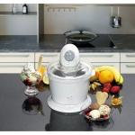 Heladera máquina de helados sorbete Clatronic ICM3225 - La heladera o maquina de helados Clatronic ICM3225 es ideal para preparar helado, sorbete y yogur helado. Capacidad de helado máximo 1 kg. Tiempo de preparación 20 – 40 minutos. Función temporizador. Heladera de doble pared con acumulador de frío. Elemento mezclador con motor síncrono robusto y silencioso. Fácil de limpiar. Alimentación: 220-240v, 50 hz, 15w