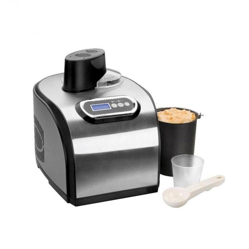 Heladera maquina de helados Lacor 69315 - con compresor - 1,4 litros - Máquinas de hacer helados Lacor 69315 con compresor para hacer verdadero y delicioso helado italiano en minutos, gracias a su avanzado sistema de refrigeración por compresor que permite bajas temperaturas constantes. Heladera con todos sus componentes básicos diseñados para garantizar excelentes resultados y fiabilidad. Recipiente desmontable para fácil limpieza. Características técnicas: - Color: Plata. - Capacidad Recipiente: 1,4 litros - 750 gramos de helado. - Tapa transparente con cierre hermético para mantener el frío en el bol recipiente. - Paleta para asegurar la cremosidad y una buena mezcla. - Pies de goma antideslizantes. - Tiempo: 60 minutos. - Temperatura: -18ºC a -38ºC. - Refrigerante: R134a. - Tamaño: 38x29x31 cm. - Peso: 14 kg. - AC: 220-240v, 50hz. - Potencia: 150w. - ( ENVÍO GRATIS ). - Ver Detalles -