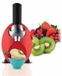 Máquina de postre fruta helada Sogo SS-5245 - Con la máquina de postre fruta helada de Sogo disfrutará de forma completamente nueva de hacer postre helado con frutas congeladas. Hace 400 gramos en sólo 1 minuto. Maquina de hacer helado de frutas de diseño elegante y de un color brillante que le dará a su cocina una apariencia moderna. Fácil de usar, puedes hacer una mezcla deliciosa de frutas con un simple toque. Es rápido, cómodo, delicioso, económico y saludable. No necesita utilizar colores artificiales, conservantes ni azúcar. Se pueden utilizar gran variedad de frutas sin semillas para hacer confituras suaves y sin fin de combinaciones de frutas, chocolate, cubitos de hielo de leche o crema. También para personas intolerantes a la lactosa - sólo utilizar frutas congeladas -. Carcasa y empujador de ABS, materiales aprobados para uso alimentario. Recetas incluidas. Fácil de limpiar, las piezas son desmontables. Único: Los mismos resultados no podrán ser alcanzados por cualquier otro mezclador del mercado. - Color: fucsia - rojo. - Medidas: 26x21x16 cm. - Peso: 1,6 kg. - Voltaje AC: 220-240v, 50hz, 150w.