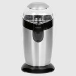 Molinillo de café Bomann KSW445 - Clatronic KSW3307 - 120w - Molinillos de café eléctrico Bomann con mecanismo batidor de percusión y potente motor de 120w. Carcasa de acero pulido. Recipiente para los granos de café de acero inoxidable para mejor conservación del aroma y mas higiene. Tapadera transparente. Capacidad para 40 gr de café - 20 tazas de café -. Pulsador de seguridad también para funcionamiento por impulsos. Interruptor de seguridad y encendido, solo funciona con la tapadera puesta. Selección del grado de molido de café por tiempo de funcionamiento. Cuchillas de acero inoxidable. Luz indicadora. Enrrollamiento del cable. Alimentación eléctrica: 220v, 50 hz, 120 w. Garantía: 2 Años. + Equivalente a Mod: Clatronic KSW3307.