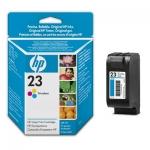 Cartucho Inyección Tinta Color HP 23 - Cartucho Tinta Color HP23. Tinta para impresoras, multifunción: HP Deskjet 695 / 710 / Officejet r40 / r60 / PSC 500 ...