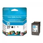 Cartucho Inyección Tinta Negro HP 27 - Cartucho Tinta Negro HP 27. Tinta para impresoras, multifunción: HP Deskjet 3320 / 3420 / Officejet 4212 / 4315 / PSC 1210 / 1311...