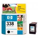 Cartucho Inyección Tinta Negro HP 338