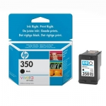 Cartucho Inyección Tinta Negro HP 350 - Cartucho Tinta Negro HP 350. Tinta para impresoras, multifunción: HP Deskjet D4260 / D4360 / Oficcejet J5730 / J6410 / Photosmart C4205 / C4380 ...
