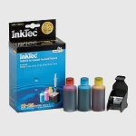 Kit Recarga para cartuchos color HP301 - 25 ml. x 3