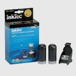 Kit Recarga para cartuchos HP 301 Negro - (20 ml. x 2) - Kit Recarga tinta negra para usar en impresoras multifunción HP: DeskJet J110a / J210a / J310a / J410a / J510a / J610a . Tinta PIGMENTADA de color negro. Equivalente a 4 - 10  rellenados. Contenido: 2 botellas de 20ml de tinta pigmentada de color negro. Juego de herramientas completo para realizar la recarga. Manual de instrucciones en varios idiomas.