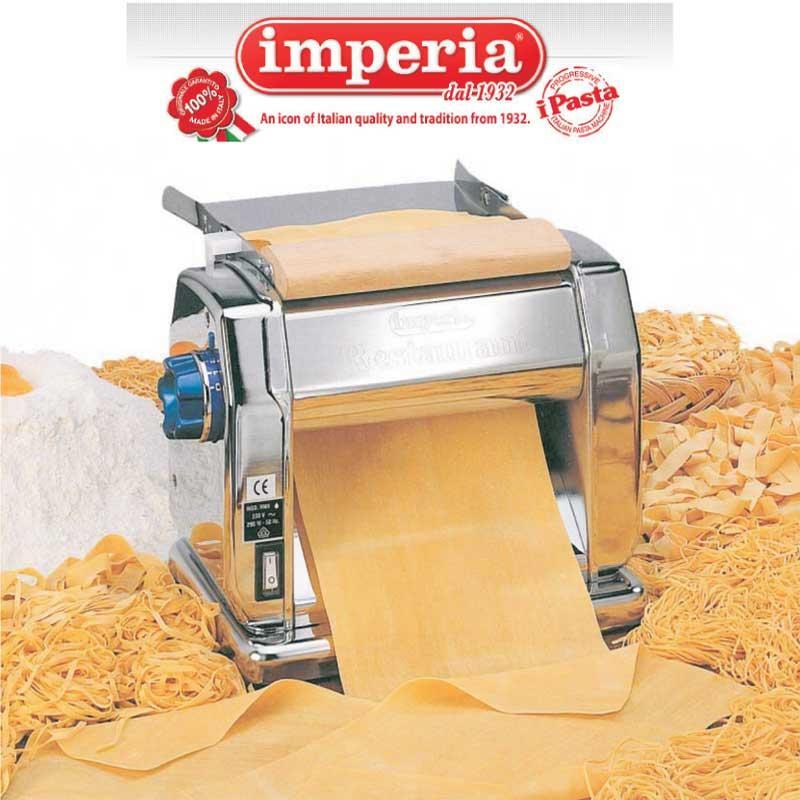 Maquina pasta eléctrica Imperia Restaurant - 220mm - acero cromado