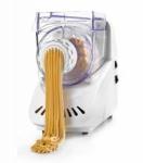 Maquina hacer pasta fresca Lacor 69127 - Máquina para hacer 7 tipos distintos de pasta fresca Lacor de 200 w de potencia. Con esta máquina podrás elaborar tu pasta fresca preferida de la forma más cómoda. Basta con verter los ingredientes necesarios en la cubeta y la máquina se encargará de mezclar y amasar. Dependiendo del disco que hayamos seleccionado podrás obtener: Macarrones, Espaguetti I, Espaguetti II, Tallarines, Rigatoni, Placa Lasaña, Ñoquis.  - Capacidad: 500 ml. - Medidas: 28x17x29 cm. - Peso: 4,3 kg. - Alimentación eléctrica: 220-240v, 50-60hz, 200w. - Ver Detalles -