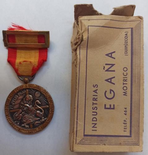 Medalla Militar de Guerra Civil Española - ARRIBA ESPAÑA - 17 julio 1936