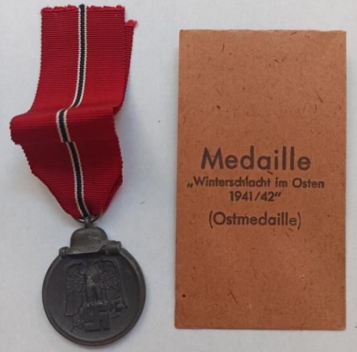 Medalla Militar Campaña del Este 1941/42 División Azul 2ª GM - WW2 Blue Division.