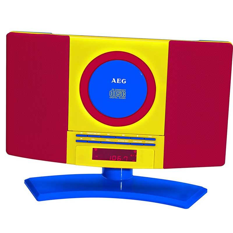 Minicadena Cd Mp3 AEG MC4464 - Kids Line