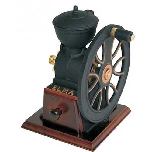 Molino de café de volante Elma - fundición hierro