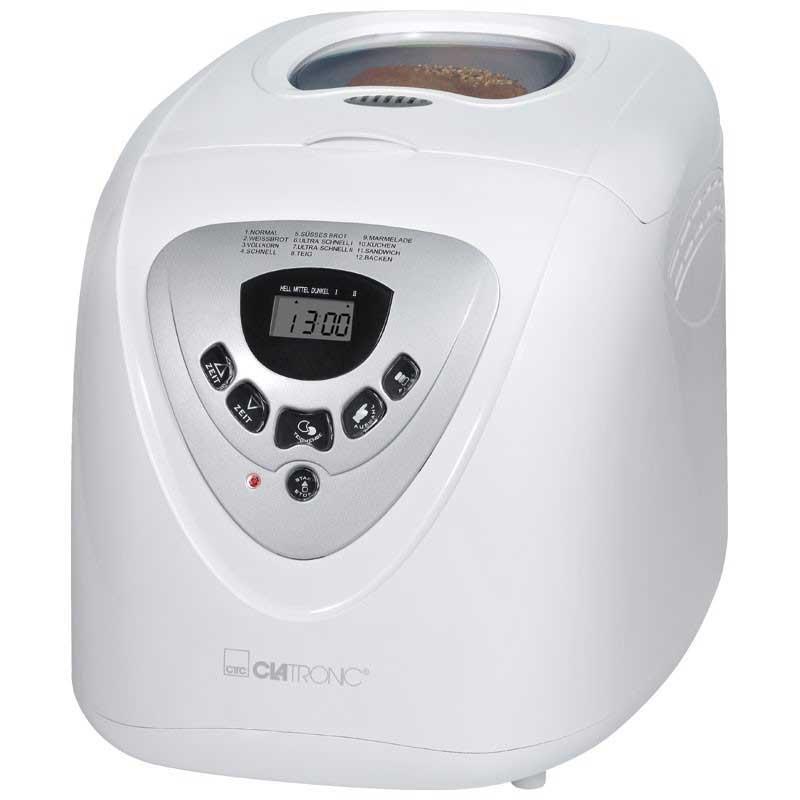 Maquina de hacer pan Panificadora Clatronic BBA 3505 - 2 litros