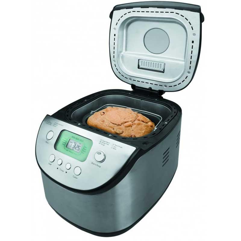 Panificadora maquina hacer pan Lacor 69316 - 2,7 litros - Maquina hacer pan Panificadora Lacor 69316 para elaboración totalmente automática de la masa y del pan o bizcochos - amasar, fermentar, hornear -. Molde de hornear con revestimiento anti-adherente, extraíble. Capacidad de 2,7 litros para 1,3 kg de pan. 12 programas de cocción con 47 combinaciones posibles: pan blanco con corteza dura, con corteza blanda, pan integral, pan dulce, pan sin gluten - indicado para celíacos o alérgicos al gluten -. Opción para elaboración de masas para emplearse posteriormente como base de pizza, empanadas, pasteles. - Potencia: 680 w. - Capacidad: 2,7 litros. - Opciones: 12 opciones. -  Medidas: 38x30x34 cm. - Peso: 6,70 kg. +( NO Envío Contra-reembolso ). - Ver detalles -