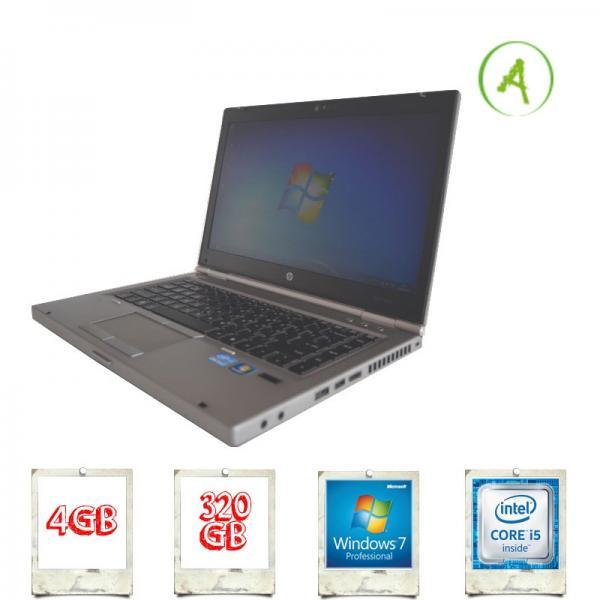 Portatil HP 8460P i5-2520M 2,5Ghz 4Gb 320Gb DVDRW Win 7Pro - de OCASIÓN - Portátil usado de Ocasión HP 8460P i5-2520M a 2,5Ghz con memoria Ram de 4 Gb DDR3, Disco duro de 320 Gb y lector DVDRW. Con Win 7Pro como Sistema Operativo. - Conexiones : 3USB, VGA, RJ45, eSata, Lector de Tarjetas SD, Digital Port, Lector Huella, PCMCIA Express, Firewire. - Tipo De Producto : Producto de Ocasión o usado. Puede presentar marcas de uso - daños estéticos leves -. - Garantía : 1 Año. ( ENVÍO GRATIS ). No envío contra reembolso. - VER DETALLES -.