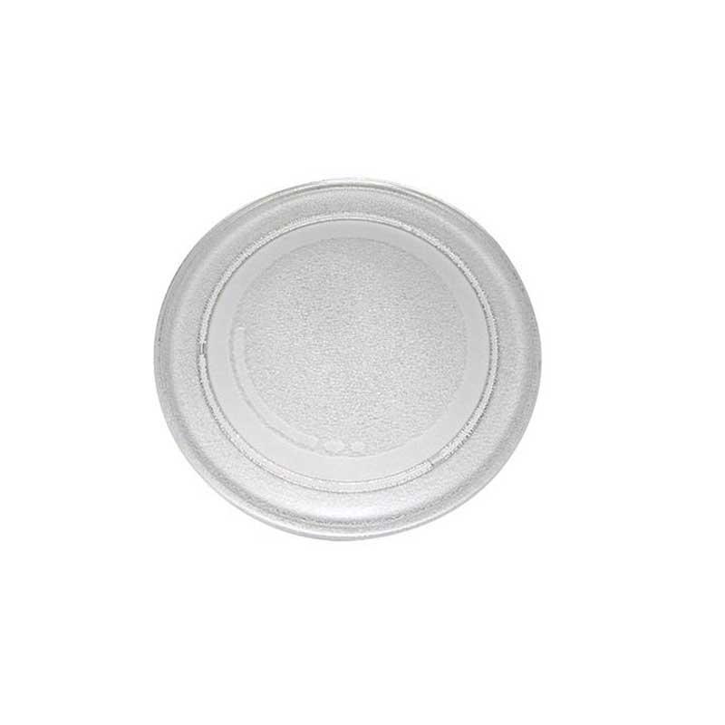 Plato repuesto microondas Fersay MC02015 - Diámetro 24,5 cm - Plato de repuesto para microondas, con diámetro de 24,5 cm. Plato de vidrio refractario resistente a ralladuras y a cambios extremos de temperatura, apto para lavavajillas. Este producto es compatible con los siguientes modelos de microondas: Fersay MCO2015 y BEKO MWC2000MW. Características: - Diámetro: 24,5 cm. - Anclaje: 18 cm. - Duradero, y de fácil limpieza. - Material: Vidrio. - Color: Transparente. + Nota: Imagen orientativa, puede variar a criterio del Fabricante.