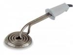Quemador eléctrico redondo Lacor 68651 - 10cm - Quemador de cremas eléctrico de forma redonda de 10 cm de diámetro marca Lacor. Utensilio de cocina diseñado para aplicaciones en cocina y repostería que requieran quemar azúcar o caramelo, para dejar una fina capa dorada como en el caso de la crema catalana,...  - Diámetro: 10 cm. - Alimentación eléctrica: 220-230v, 50-60 hz. - Potencia: 650 w. - Peso neto: 1,13 kg.